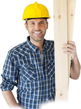 Male construction worker